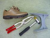 靴の加工1